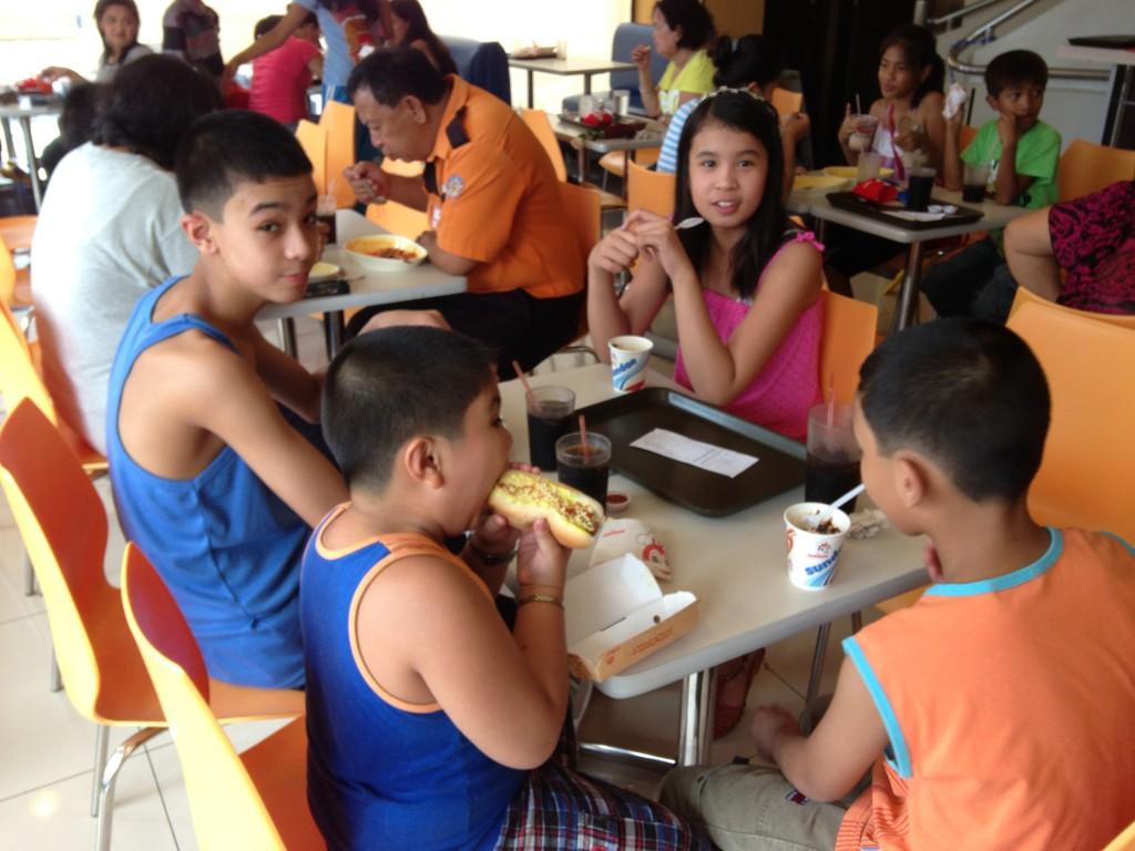 Jollibbe i Siniloan Laguna Filippinerne